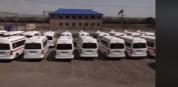 «Շտապօգնություն» ծառայությունը համալրվել է 200 նոր մեքենաներով. տեսանյութ