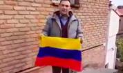 Վրաստանում ադրբեջանցին այրել է Հայաստանի դրոշը (տեսանյութ)