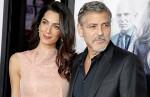 Беременная Амаль Клуни на премьере в Лондоне