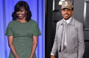 Мишель Обама приняла участие в награждении Chance the Rapper