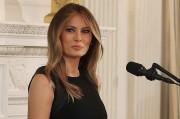 Иванка и Мелания Трамп на приеме в Белом доме в честь Междун...