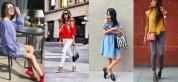 21 նորաձև կերպար. ինչպես համադրել վառ գույները. ֆոտոշարք