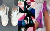 Սպորտային գեղեցիկ կոշիկներ. Ֆոտոշարք