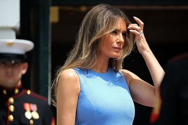 Новый образ первой леди США: Мелания Трамп на приеме в Белом доме (фот...
