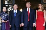 Наряд Мелании Трамп на встрече с китайским лидером (фото)