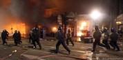 В результате беспорядков в Лондоне пострадали шестеро полицейских