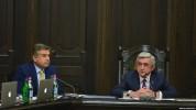 Всю ответственность в случае провала программы Правительства будет нести не Сержа Саргсяна...