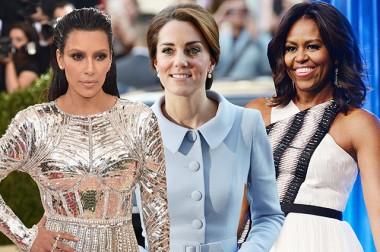 Мишель Обама, Кейт Миддлтон, Ким Кардашьян и другие звезды попали в сп...