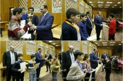 Мэр Еревана Тарон Маргарян вручил награды победителям юношеского первенства Еревана по шахматам