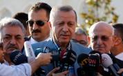 Эрдоган потерял сознание во время праздничной молитвы