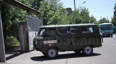 Բացառիկ կադրեր. ինչպե՞ս են վթարից տուժած զինծառայողներին տեղափոխում Երևան (տեսանյութ)