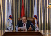 Գագիկ Ծառուկյանն ընդունել է հաղթանակներով հայրենիք վերադարձած հայ մարզիկներին
