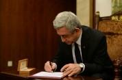 ՀՀ նախագահն օրենքներ է ստորագրել