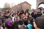 Ծաղկազարդի տոնին մանուկների օրհնության հատուկ կարգ կկատարվի
