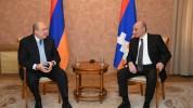 Արմեն Սարգսյանը հեռախոսազրույց է ունեցել Արցախի նախագահի հետ