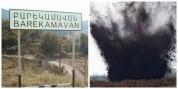 Հայ-ադրբեջանական սահմանին ականի պայթյունից բնակիչ է վիրավորվել