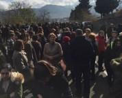 Բերդավանի բնակիչները փակել են Հայաստան-Վրաստան միջպետական ճանապարհը