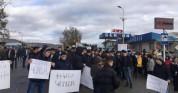 Բերդավան գյուղում  երկրորդ օրն է  բողոքի ցույց է.փակել են միջպետական ճանապարհը