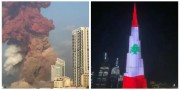 Դուբայում Բուրջ Խալիֆան ի նշան համերաշխության լուսավորվել է լիբանանյան դրոշի գույներով (տեսանյութ)