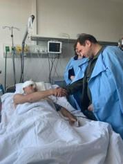 ՀՀ Պաշտպանության նախարար Դավիթ Տոնոյանը այցելել է կենտրոնական հոսպիտալ. Արծրուն Հովհաննիսյ...