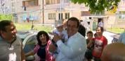 Գ.Ծառուկյանն Աբովյանում մասնակցել է հունիսի 1-ին նվիրված միջոցառումներին