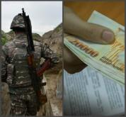 Զորամասի հրամանատարը խաբեությամբ հափշտակել է պայմանագրային զինծառայողներին բաժանված պարգևա...