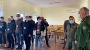 ՀՀ զինվորական դատախազը այցելել է ՀՀ ՊՆ կենտրոնական հավաքակայան (լուսանկարներ)