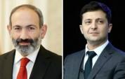 Փաշինյանը շնորհավորել է Վլադիմիր Զելենսկուն՝ Ռադայի ընտրություններում հաղթելու կապակցությա...