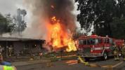 Կալիֆորնիայում ինքնաթիռն ընկել է բնակելի տների վրա. կան զոհեր և վիրավորներ (տեսանյութ)