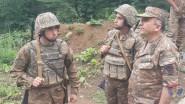 Արցախի ՊԲ հրամանատարն այցելել է մի շարք զորամասեր և առաջնագիծ (լուսանկարներ...