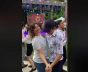 Նիկոլ Փաշինյանի դուստրը տանգո է պարում շրջանավարտի հետ