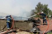 Զովունու չշահագործվող փայտամշակման արտադրամասում բռնկված հրդեհը մարվել է