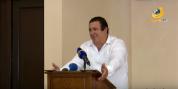 Գ.Ծառուկյանը հանդիպել է Մինսկում կայանալիք Եվրոպական խաղերի մասնակից հայ մարզիկների հետ