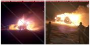 14.5 տոննա բեռ տեղափոխող մեքենան վերածվել է մոխրակույտի