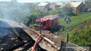 Հրդեհ Շիրակի մարզի Անուշավան գյուղում. ամբողջությամբ այրվել է տան տանիքը