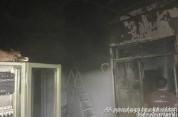 Հրդեհ՝ Լուսառատ գյուղի սառնարանային պահեստի տանիքում