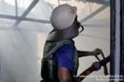 Մայրաքաղաքի բնակարաններից մեկում բռնկված հրդեհը քաղաքացիների ուժերով մարվել է