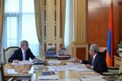 Հանրապետության Նախագահը հանձնարարականներ է տվել Վահան Մարտիրոսյանին