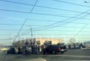 Շղթայական ավտովթար՝ Դավիթ Բեկի փողոցում