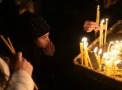 Հայկական եկեղեցիներում ճրագալույցի պատարագ է մատուցվում