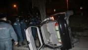Սիսիան-Երևան ավտոճանապարհին ավտոմեքենան կողաշրջվել է. կա տուժած