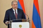 Հավատացեք`այսօր հնչող դպրոցական վերջին զանգը ձեզ առաջնորդում է երազանքի Հայաստան. նախագահի...
