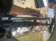 Աշոցք գյուղում իրավապահները հայտնաբերել և առգրավվել են ապօրինի պահվող զենք-զինամթերք