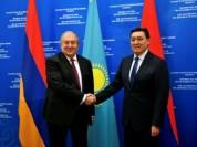 Ղազախստանը հետաքրքրված է Հայաստանի հետ տնտեսական կապերի խորացմամբ. Ղազախստանի վարչապետ