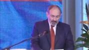 «Քաղաքացիական պայմանագիր» կուսակցության համագումարին ելույթ է ունենում վարչապետ Նիկոլ Փաշի...
