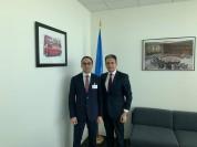 Տիգրան Ավինյանն այսօր Նյու Յորքում հանդիպել է ՄԱԿ-ի Գլխավոր ասամբլեայի և կոնֆերանսների կառ...