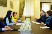 Արփինե Հովհաննիսյանն ընդունել է «Human rights watch»-ի ներկայացուցիչներին