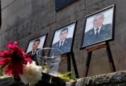 Ոստիկանության ծառայողները հարգանքի տուրք մատուցեցին ՊՊԾ գնդում զոհված ոստիկանների հիշատակի...