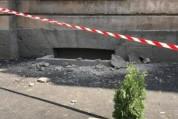 Գյումրիում շենքի պատշգամբ է փլուզվել. զոհեր ու վիրավորներ չկան