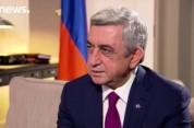 Интервью Сержа Саргсяна EuroNews: «Мы можем быть добрым и предсказуемым соседом для европе...